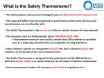 what is the safety thermometer