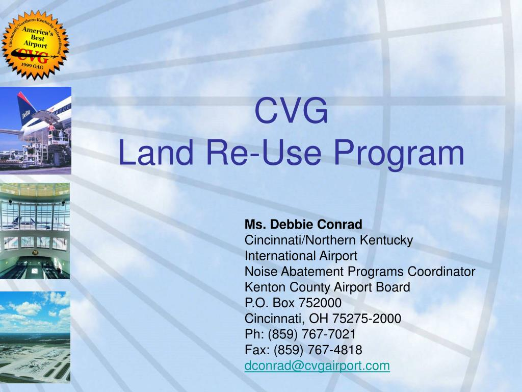 cvg land re use program l.