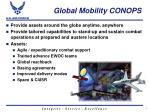 global mobility conops