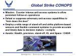 global strike conops