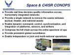 space c4isr conops