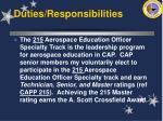 duties responsibilities19