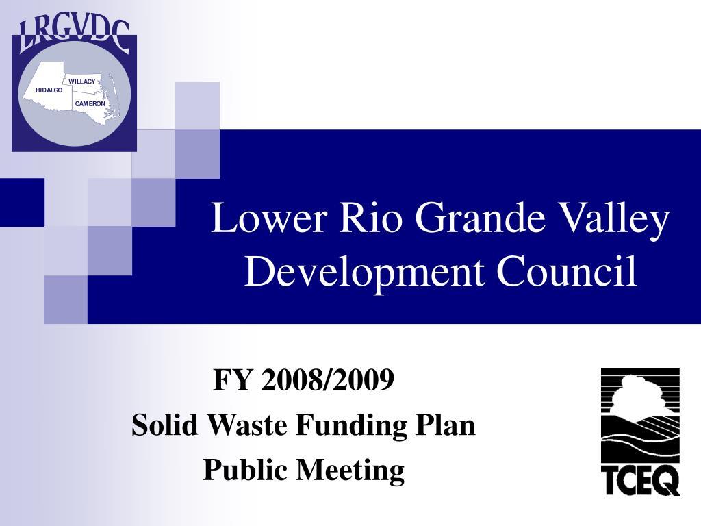 lower rio grande valley development council l.
