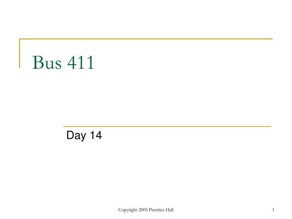bus 411 l.
