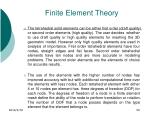 finite element theory56