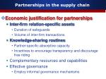 partnerships in the supply chain12
