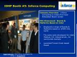 idhp booth 5 inforce computing