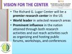 vision for the center