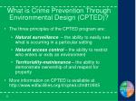 what is crime prevention through environmental design cpted