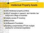 intellectual property assets