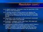 resolution cont1