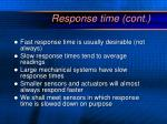 response time cont1