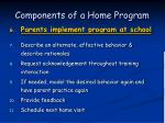 components of a home program54