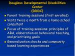 douglass developmental disabilities center dddc