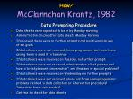 how mcclannahan krantz 198219