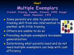how multiple exemplars crocket fleming doepke stevens 2005 koegel glahn nieminen 1978