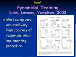 how pyramidal training kuhn lerman vorndran 200325