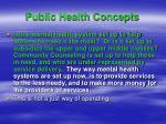 public health concepts