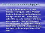 the therapeutic relationship 3025