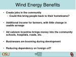 wind energy benefits