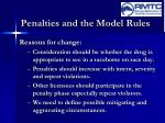 penalties and the model rules6
