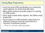 using map projections