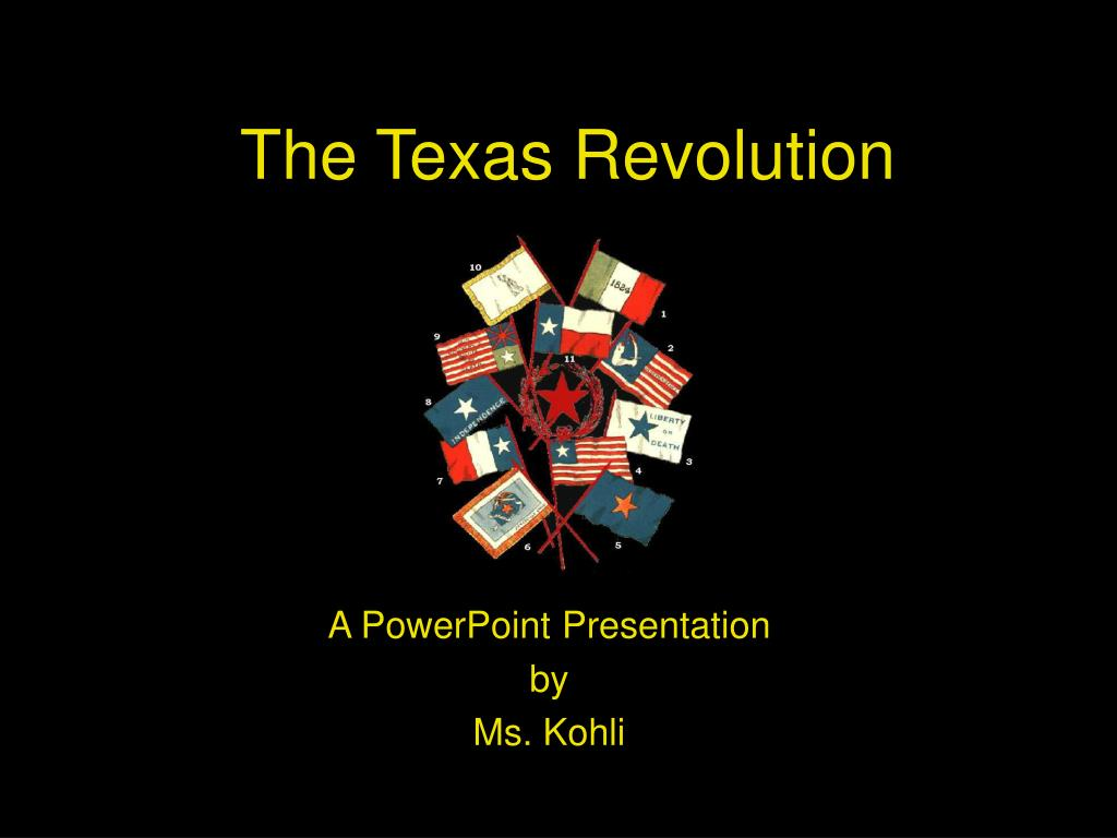 the texas revolution l.