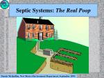 septic systems the real poop