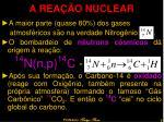 a rea o nuclear