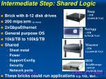 intermediate step shared logic