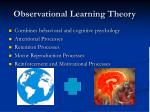 observational learning theory