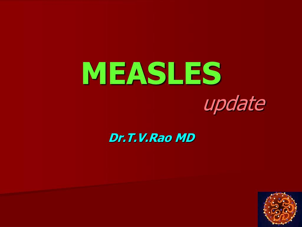 measles update l.