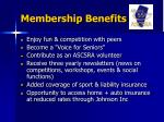 membership benefits22