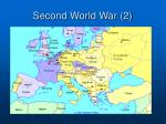 second world war 2