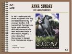 anna sunday by sally keehn