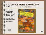 awful ogre s awful day by jack prelutsky