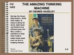 the amazing thinking machine by dennis haseley