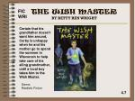 the wish master by betty ren wright