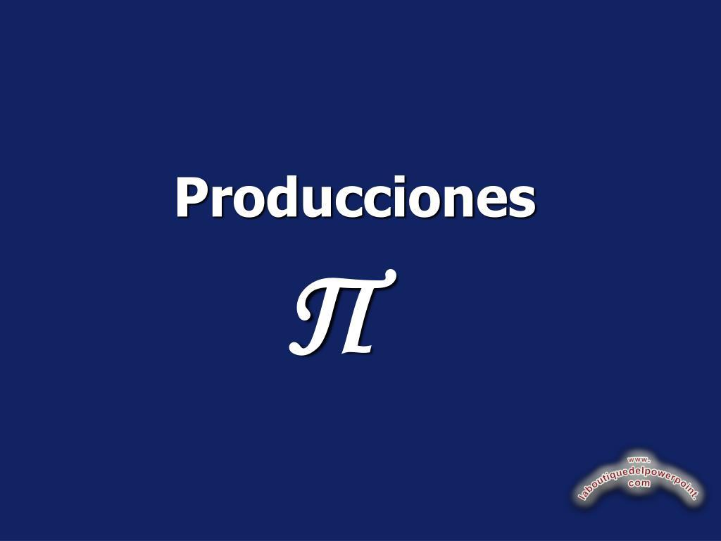 producciones l.