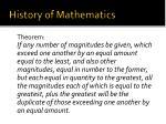 history of mathematics