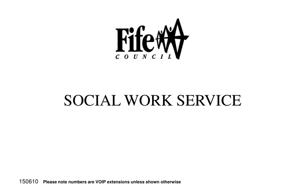 social work service l.