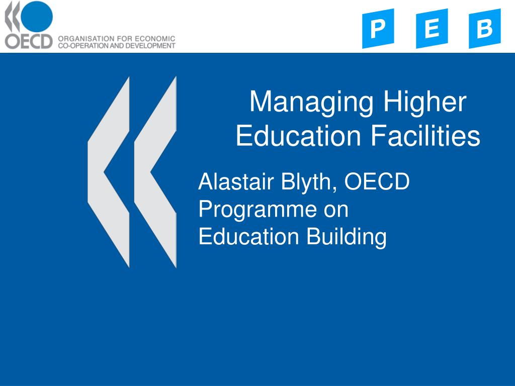 managing higher education facilities l.