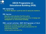 oecd programme on educational building peb