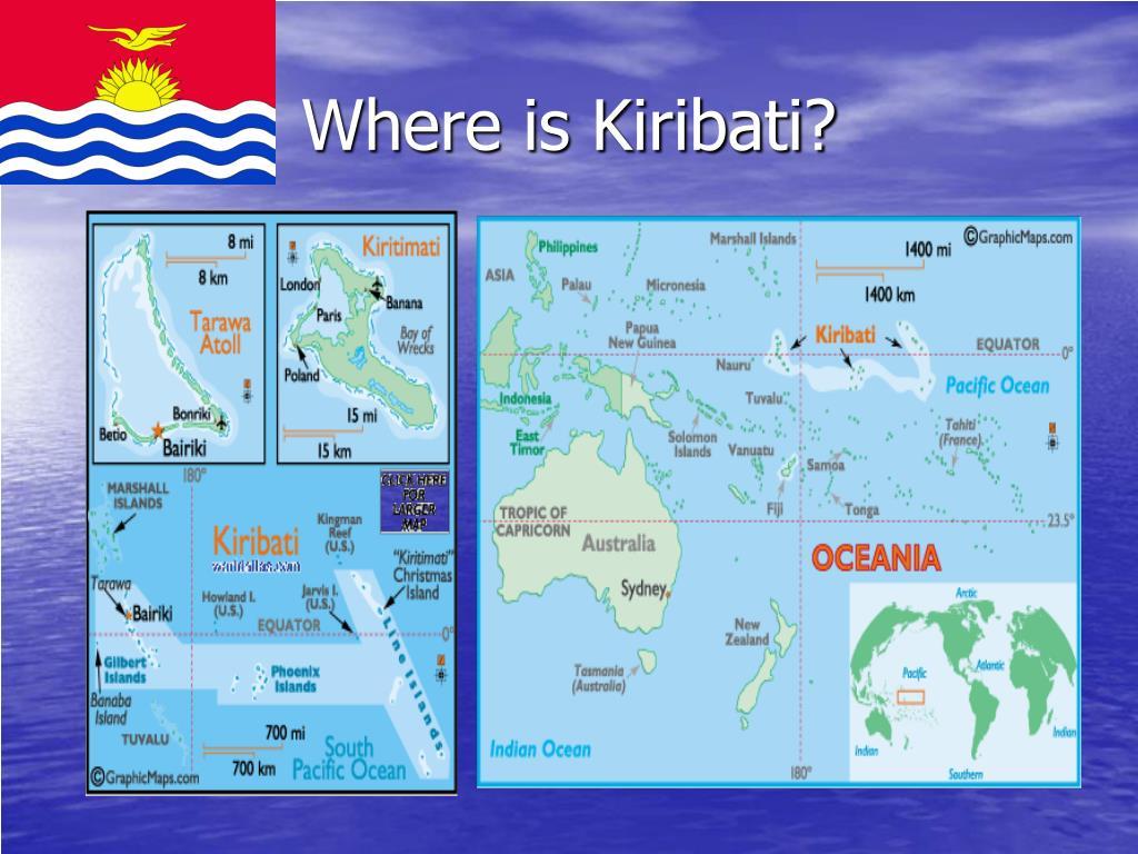 where is kiribati l.