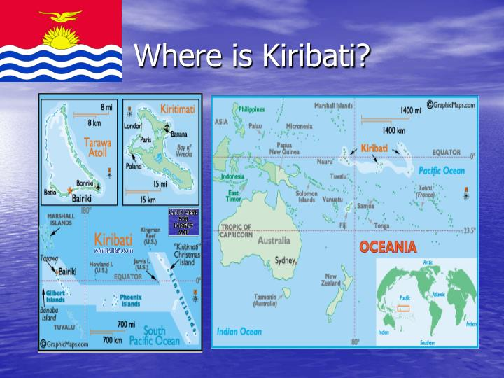 where is kiribati n.