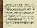 chichen itza toltec influence