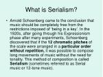 what is serialism