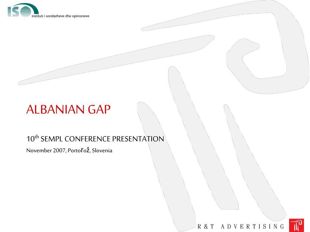 albanian gap l.