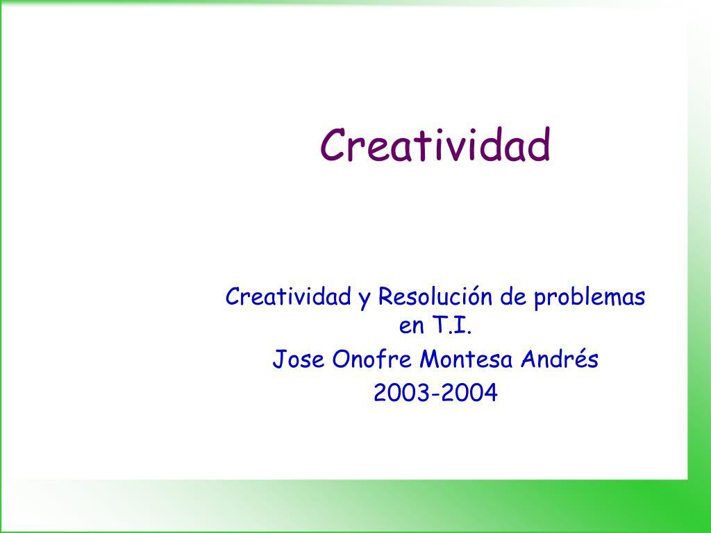 creatividad l.