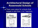 architectural design of rosenwald schools21